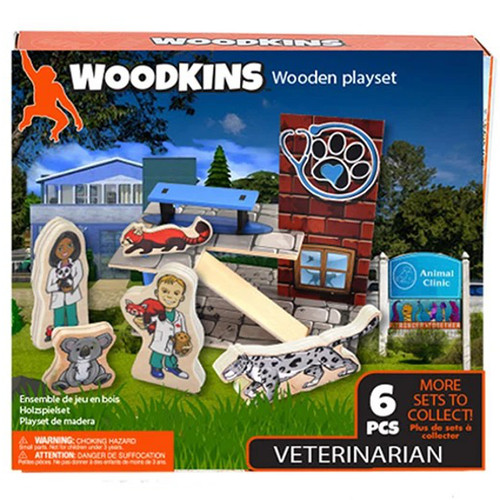 Woodkins Veterinarian box