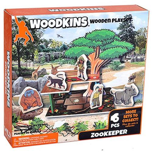 Woodkins Zookeeper box