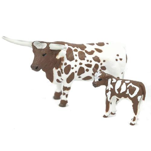 Longhorn Cow & Calf