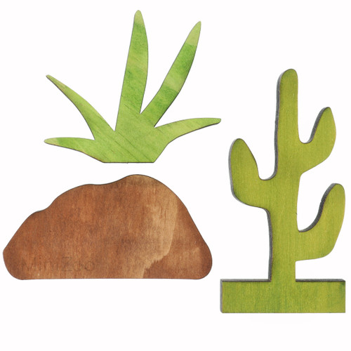 Let Them Play Storyscene Cactus/Grass/Boulder bundle