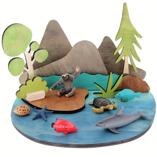 Let Them Play Outdoors Set with figurines (sold separately)