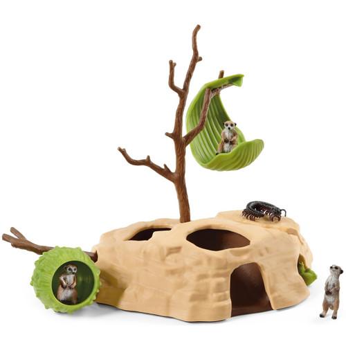 Schleich Meerkat Hangout