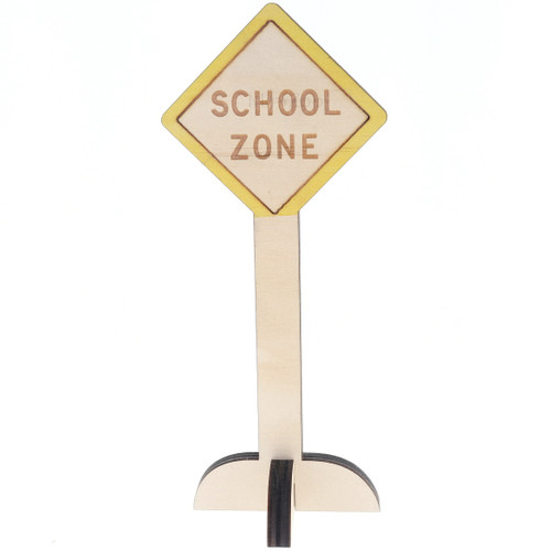 Let Them Play Road Sign School