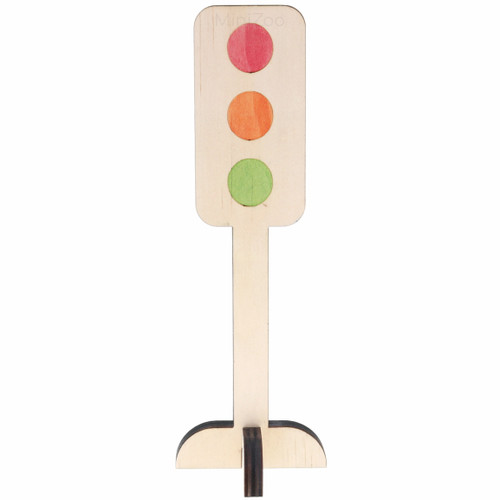 Let Them Play Road Sign Traffic Light