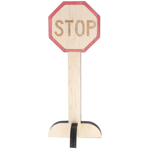 Let Them Play Road Sign Stop