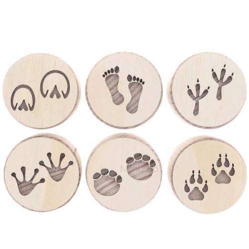 Let Them Play Stampers Footprints