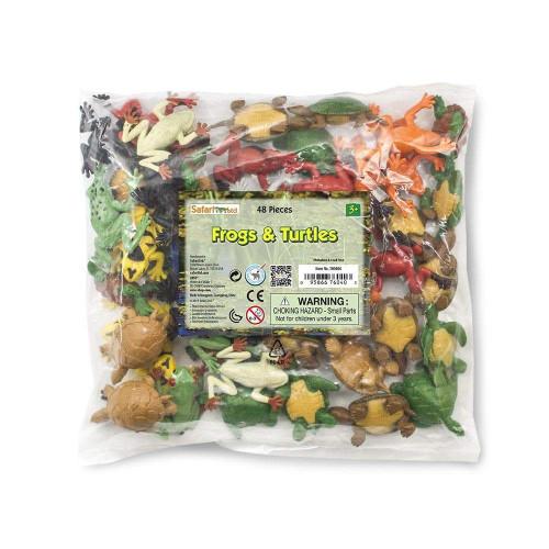 Safari Ltd Frogs & Turtles Bulk Bag