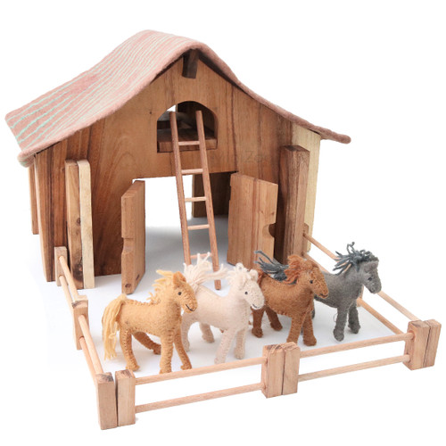 Papoose Deluxe Barn Set
