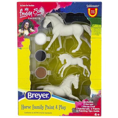 Breyer Activity Mini Painting Horse Family