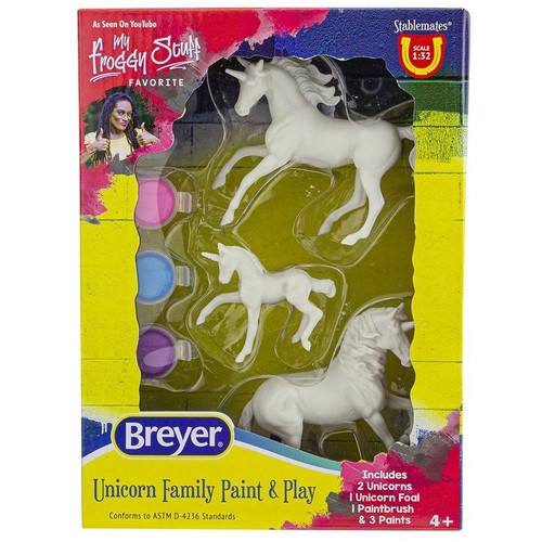 Breyer Activity Unicorn Family Paint & Play packaging