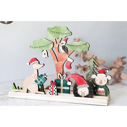 Let Them Play Storyscene Aussie Christmas Animals Set