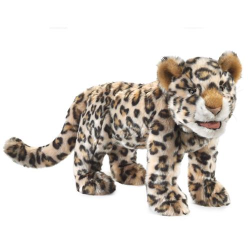 Folkmanis Leopard Cub Hand Puppet