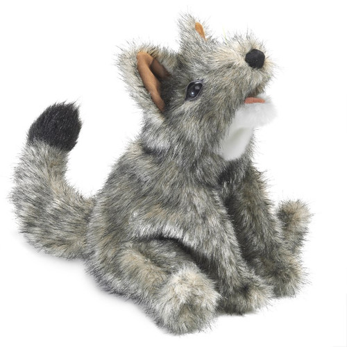 Folkmanis Small Coyote Hand Puppet