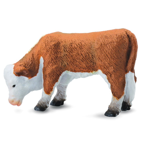 CollectA Hereford Calf Grazing