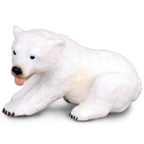 CollectA Polar Bear Cub Sitting