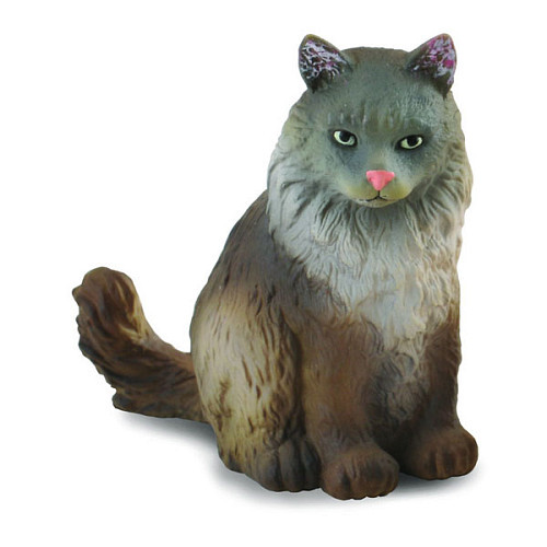 CollectA Norwegian Forest Cat Sitting