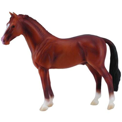 CollectA Hanoverian Stallion Chestnut