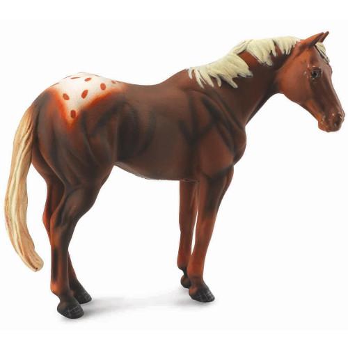 CollectA Appaloosa Stallion Chestnut