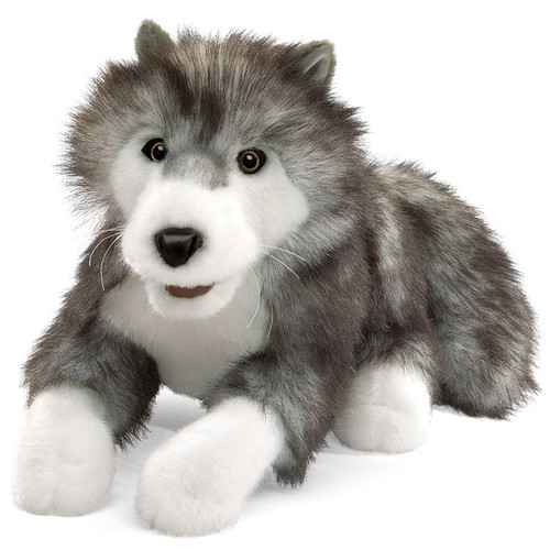 Folkmanis Timber Wolf Hand Puppet