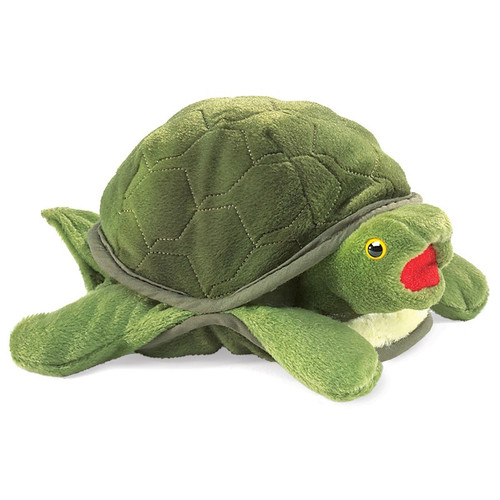 Turtle Baby Puppet