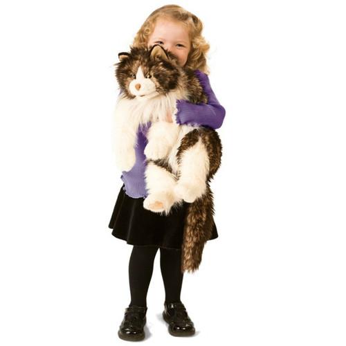 Folkmanis Ragdoll Cat Hand Puppet