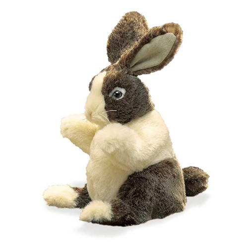 Dutch Rabbit Baby Hand Puppet