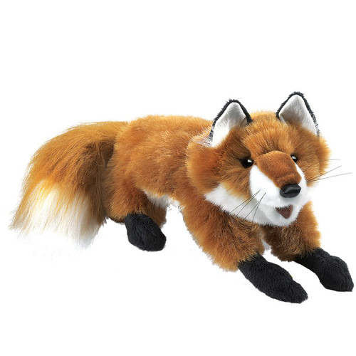 Red Fox Hand Puppet Small
