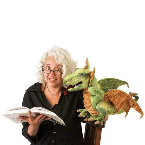 Wyvern Dragon Hand Puppet