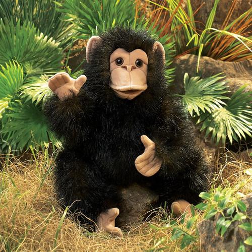Baby Chimpanzee Hand Puppet