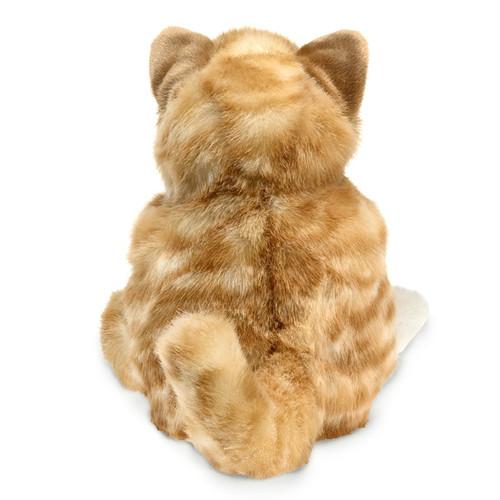 Orange Tabby Kitten Hand Puppet