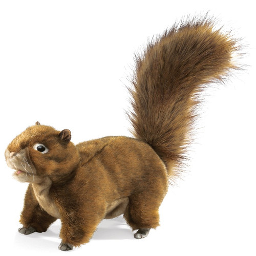 Red Squirrel Hand Puppet