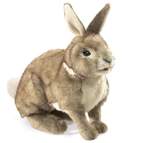 Cottontail Rabbit Hand Puppet