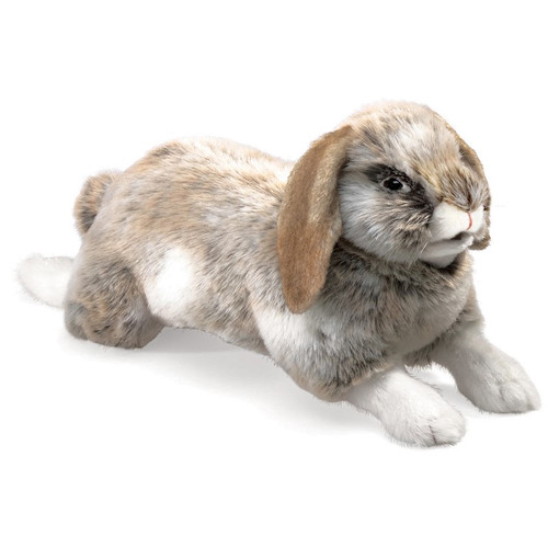 Holland Lop Rabbit Hand Puppet