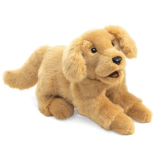 Golden Retriever Puppy Hand Puppet