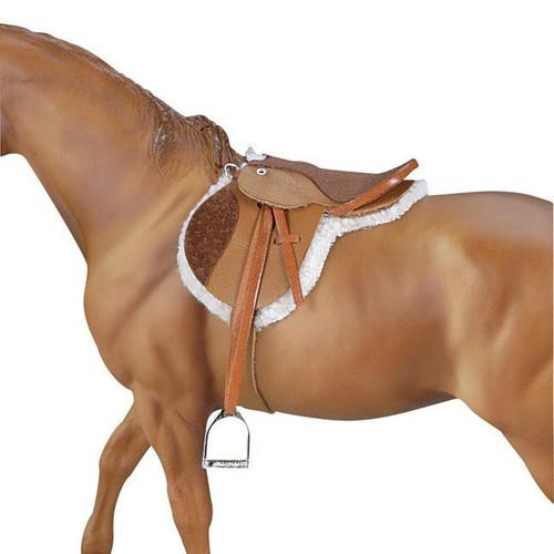 Breyer Devon English Hunt Seat Saddle traditional size
