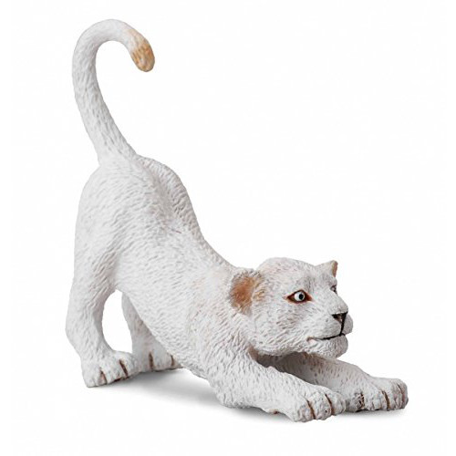 CollectA White Lion Cub Stretching