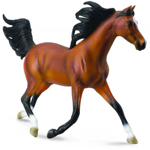Arabian Stallion Bright Bay Deluxe Scale