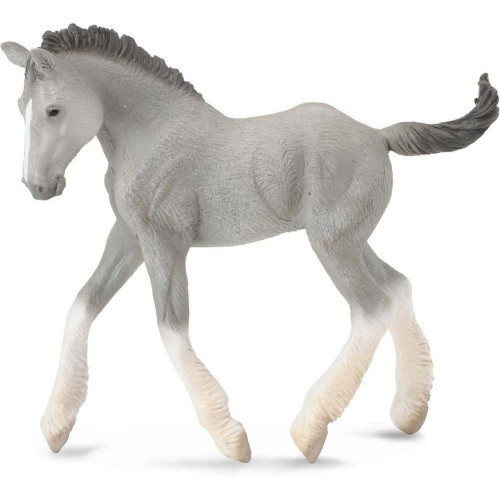 CollectA Shire Horse Foal Grey