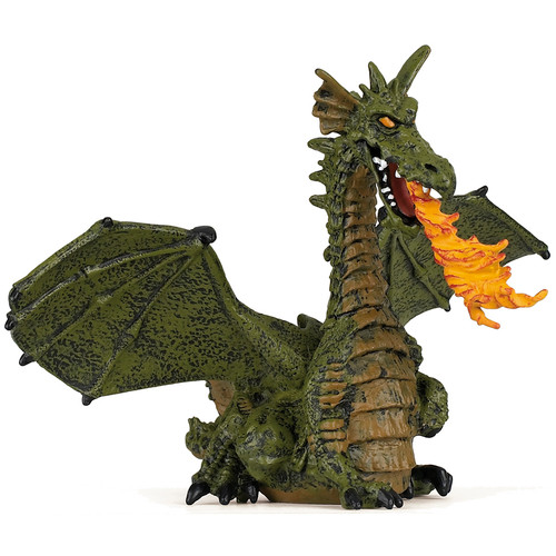 Papo Winged Green Dragon