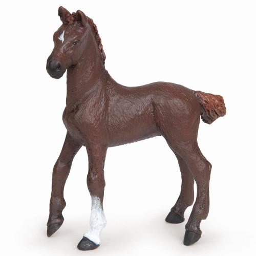 Papo Alezan English Thoroughbred Dark Foal
