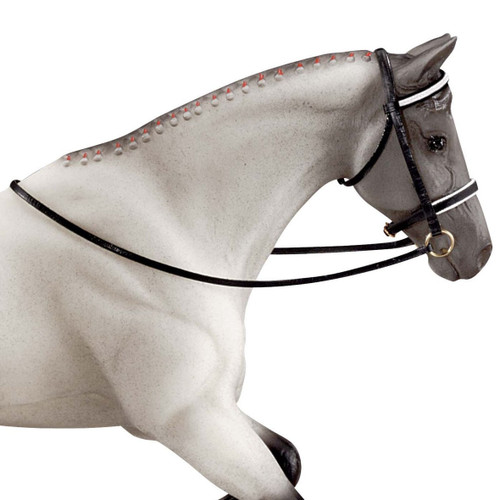 Breyer Dressage Bridle for traditional sized models. Horse not included.