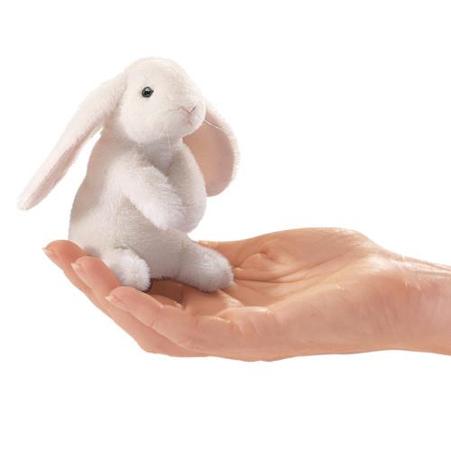 Mini Lop Earred Rabbit Finger Puppet