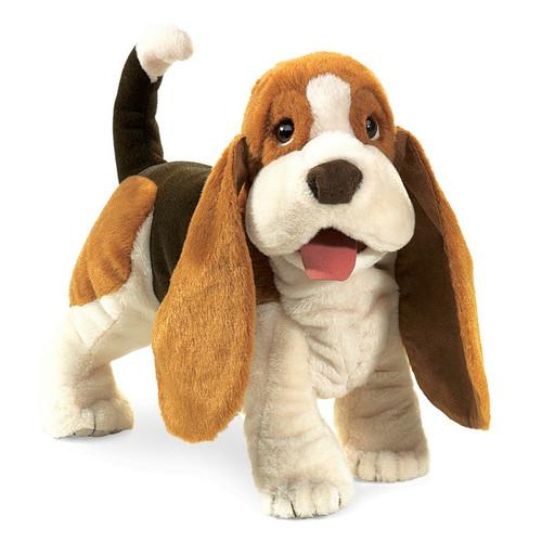 Basset Hound Hand Puppet