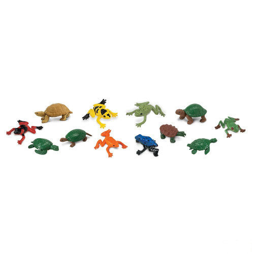 Safari Ltd Frogs & Turtles Toob