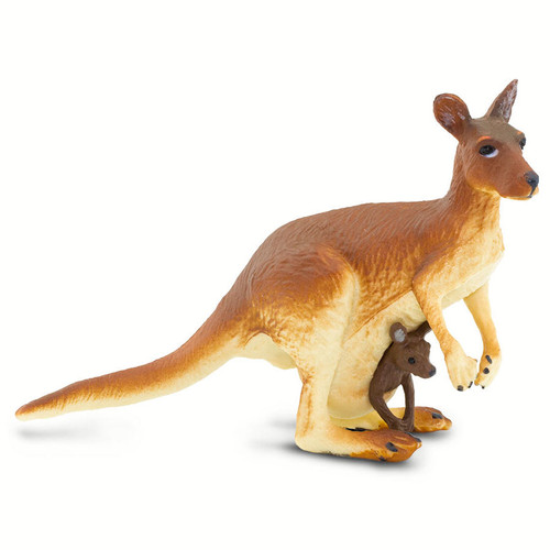 Safari Ltd Kangaroo with Baby