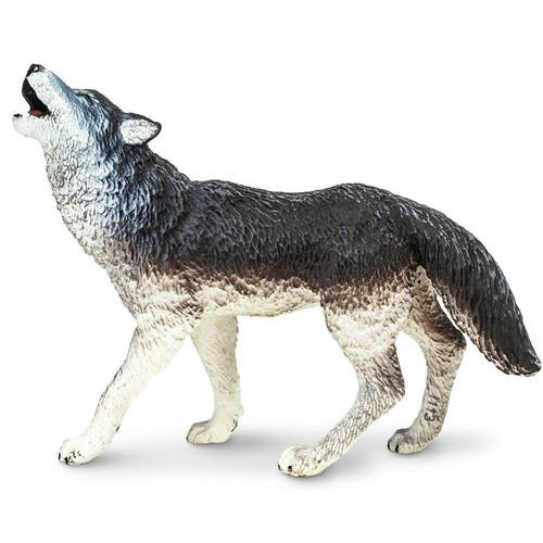 Safari Ltd Wolf Grey Howling