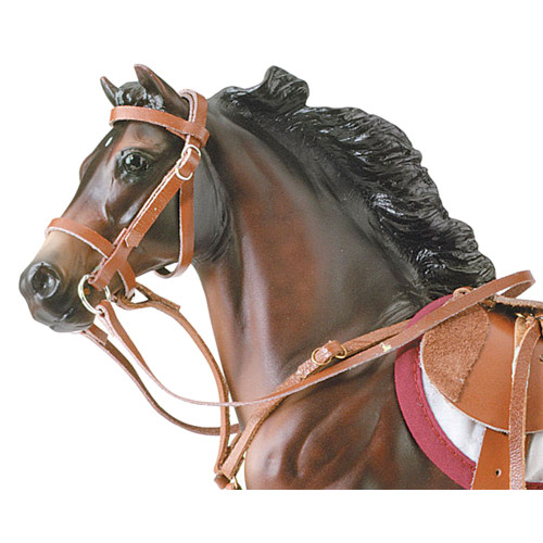 Breyer Hunter Jumper Bridle for traditional size. Horse not included.