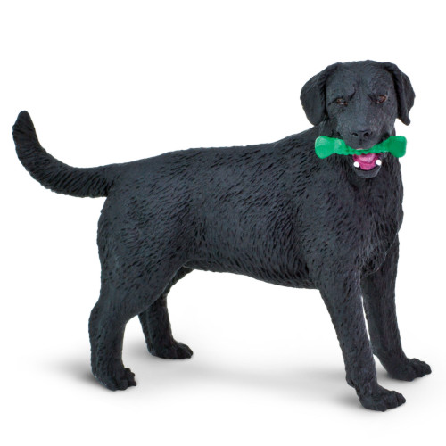 Safari Ltd Black Labrador