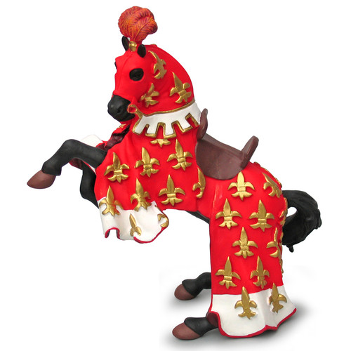 Papo Prince Philip Horse Red