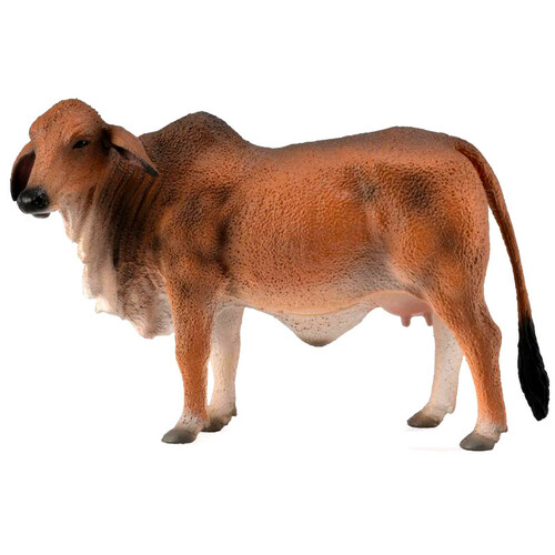 CollectA Brahman Cow Red